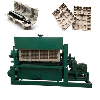 4000pcs per hour paper cup making machine egg tray production line for chicken eggs