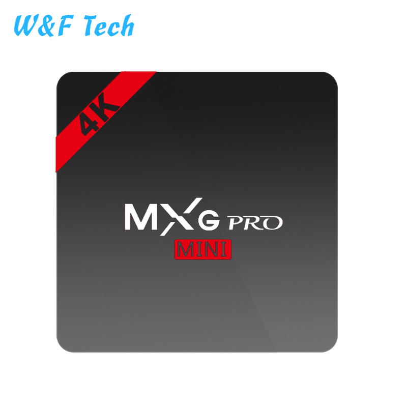 2018 the most competitive Price Amlogic S905W 1+8GB MXG PRO mini Android TV box in the market from W&F