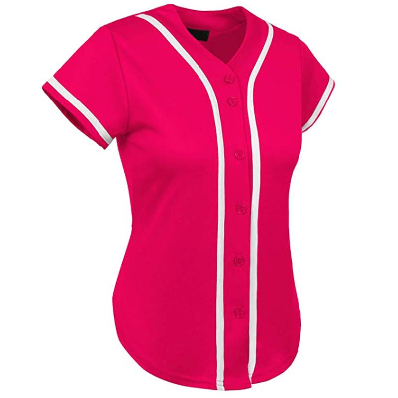 Оптовая продажа женских бейсбольных джерси на заказ