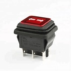 KCD2 factory price waterproof led DPTT 3 position rocker switch 16a 250v ac 25t85 1e4 pti t125 r11