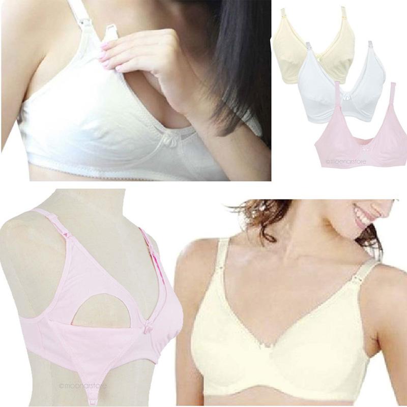 2015 новый женщин беременным белье бюстгальтер грудное вскармливание бюстгальтер беременная бюстгальтер для кормления белый обнаженная розовый