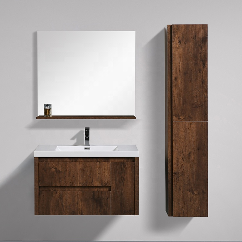 New Fashion Wall Mounted Single Sink Cabinet 36 Inch Bathroom Vanity Buy Floating Bathroom Vanity Hotel Bathroom Vanity Single Sink Vanity Product On Alibaba Com