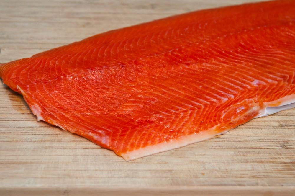 Хорошее качество, замороженная рыба, Русский красный лосось