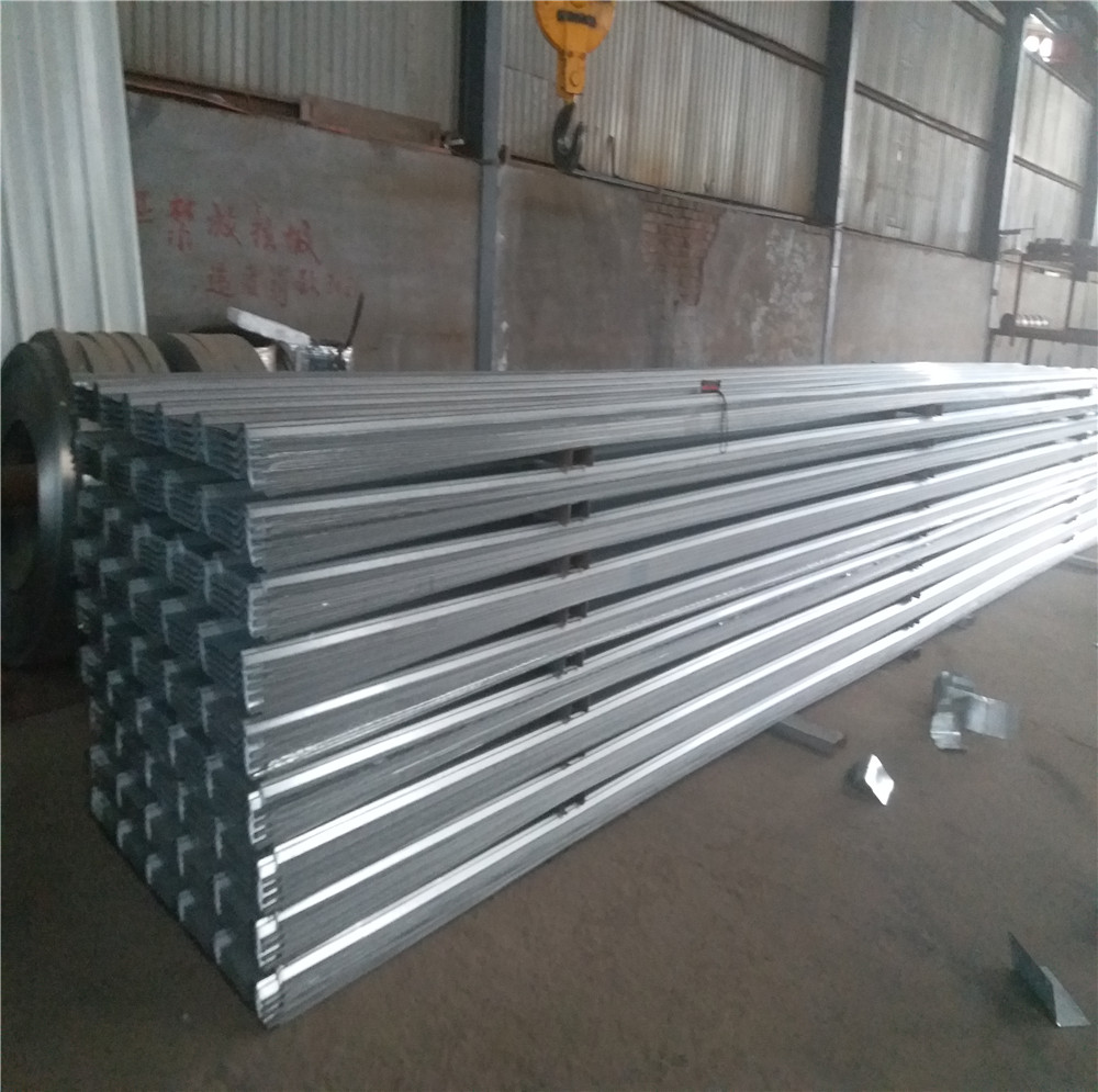 0.5 mm thick aluminum zinc Trapezoid roofing sheet