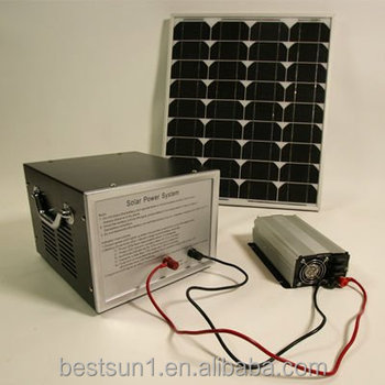 Green energy stand-alone easy install Bestsun BPS100w solar energy home system