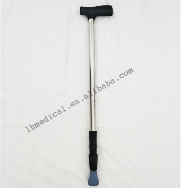 Adjustable aluminum alloy telescopic walking sticks
