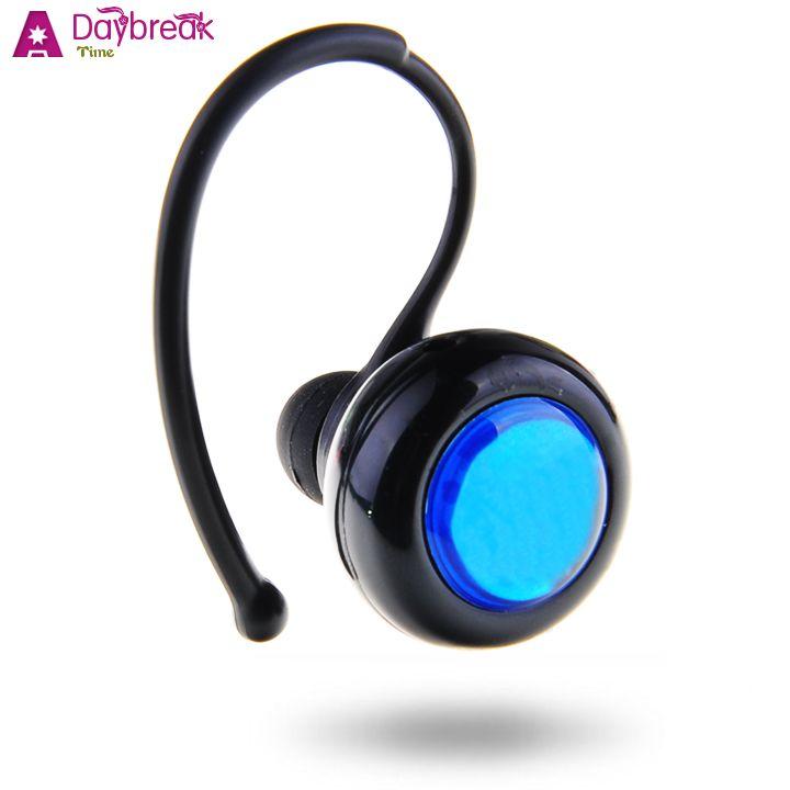 black in ear stereo bluetooth earphone wireless headset. Black Bedroom Furniture Sets. Home Design Ideas