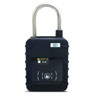 Lock Security Alarm Padlock Seal Container GPS GSM SIM3G Logistic Lock Alarm Security Tracker Padlock