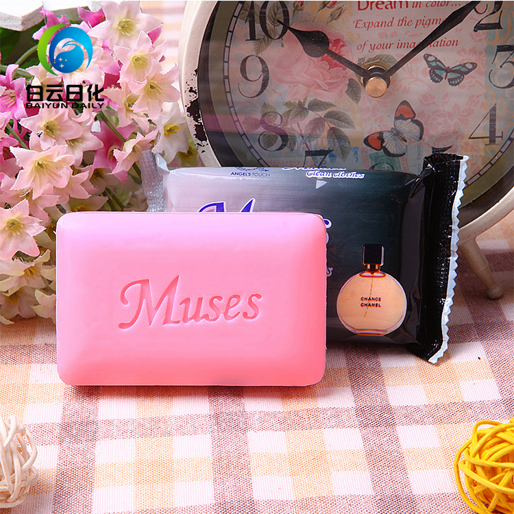 110g China Factory Wholesale Rectangle All Kinds of Color Bath Soap