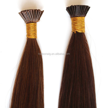 Popular style virgin hair product wholesale vendor I-tip hair extension