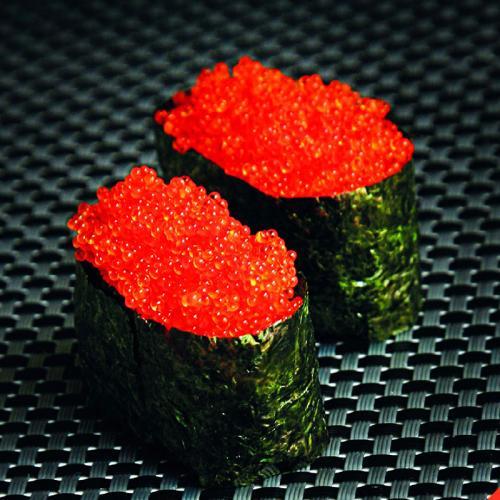 Gold Quality Black Ikura Fish Roe Tobiko