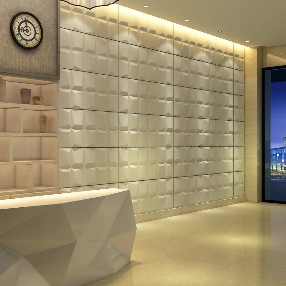 Wand Paneele Wellen Effekt Badezimmer Pvc Interieur 20d effekt ...