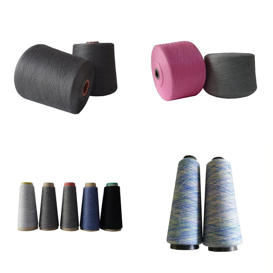 60% cotton 40% polyester Spinning Melange Yarn (heather yarn)