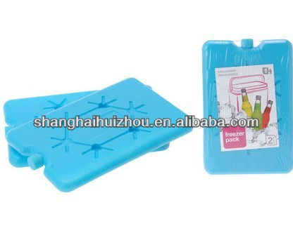 hard freezer cool pack for refrigerator cooling ice box gel cold brick