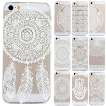 Plastic Back Case Cover For iPhone  5 5S  HENNA OJIBWE DREAM CATCHER Ethnic Tribal