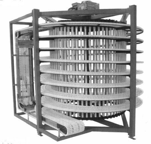 Спиральные конвейеры для хлеба шаровая опора т5 транспортер