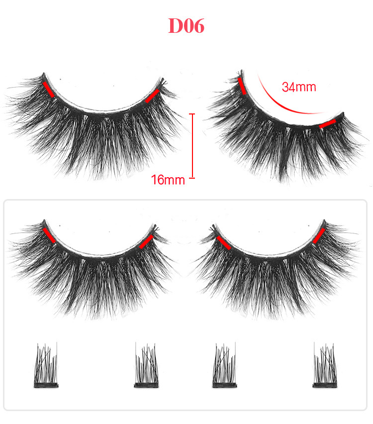 Detail Feedback Questions about 2018 3d False Eyelashes Magnetic Natural Mink Soft Faux Lashes Extension Tools Black Double Magnet Eyelash With Eyelash Tweezer on Aliexpress.com - alibaba group - 웹