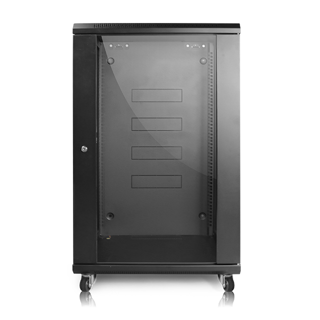 ningbo lepin supplier black network 42u server rack lock cabinet 6u wall mount network cabinet with fan for data center room