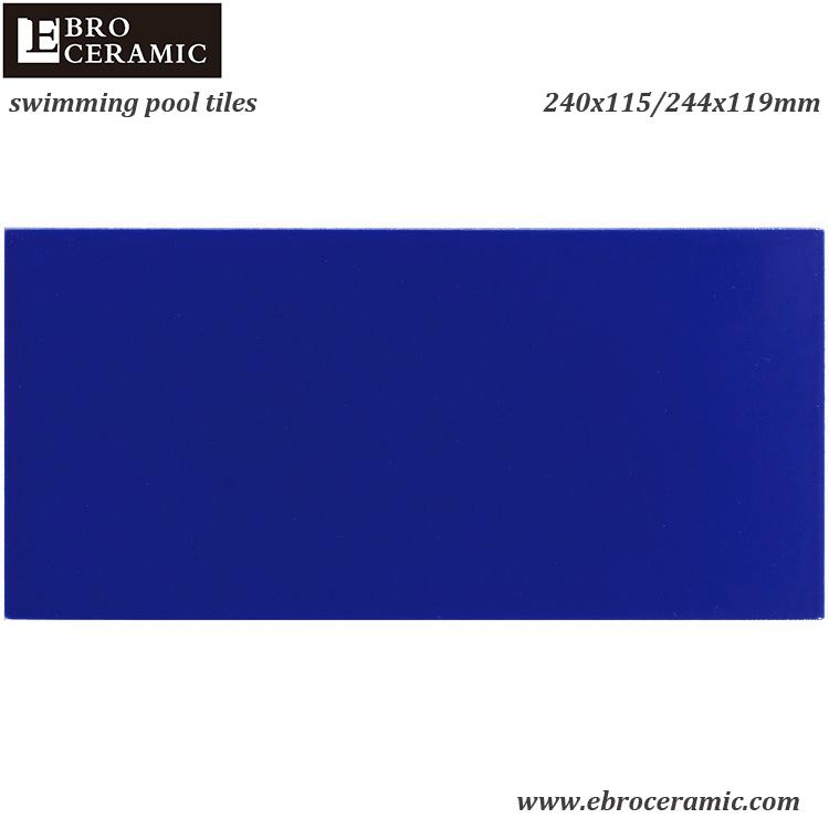 Керамическая плитка для бассейна Ebro Foshan цена FINA международный стандарт белый черный кобальт синий