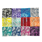 Scarf Scarf Bandana In Stock Boyue Manufacturer Wholesale Multi Colors Polyester Face Scarf Tie Dye Bandana