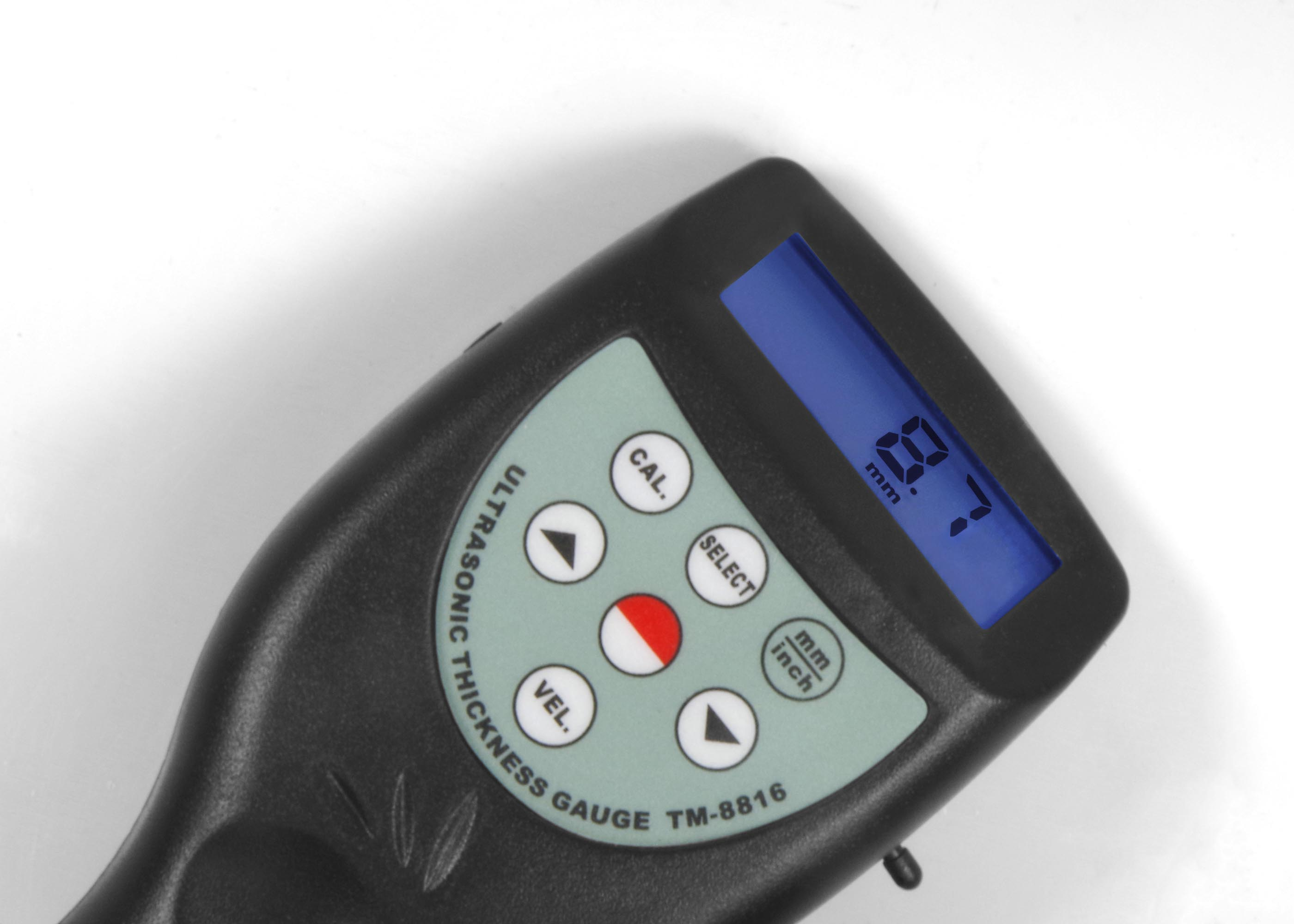 LANDTEK Digital Ultrasonic Thickness Gauge Metal Thickness Measure TM-8816C range 0.8-200mm