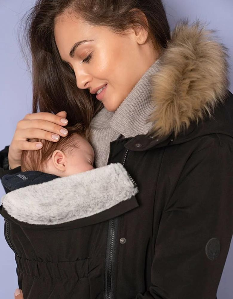 Womens Babywearing Jacket Softshell Maternity Coats Clothing
