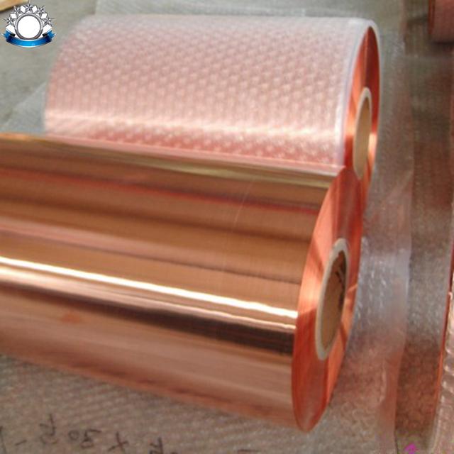 Тонкая медная лента/медная фольга для трансформатора