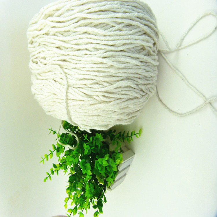 High quality open end recycled cotton mops yarn