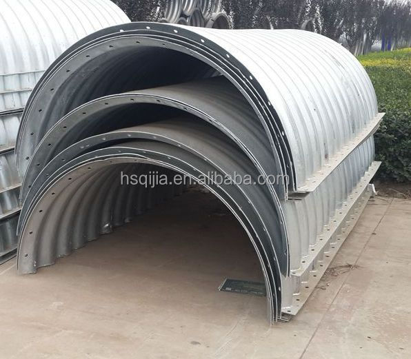 Source Corrugated Steel Culvert Pipe In 8 To 10 Foot Diameter On M Alibaba Com