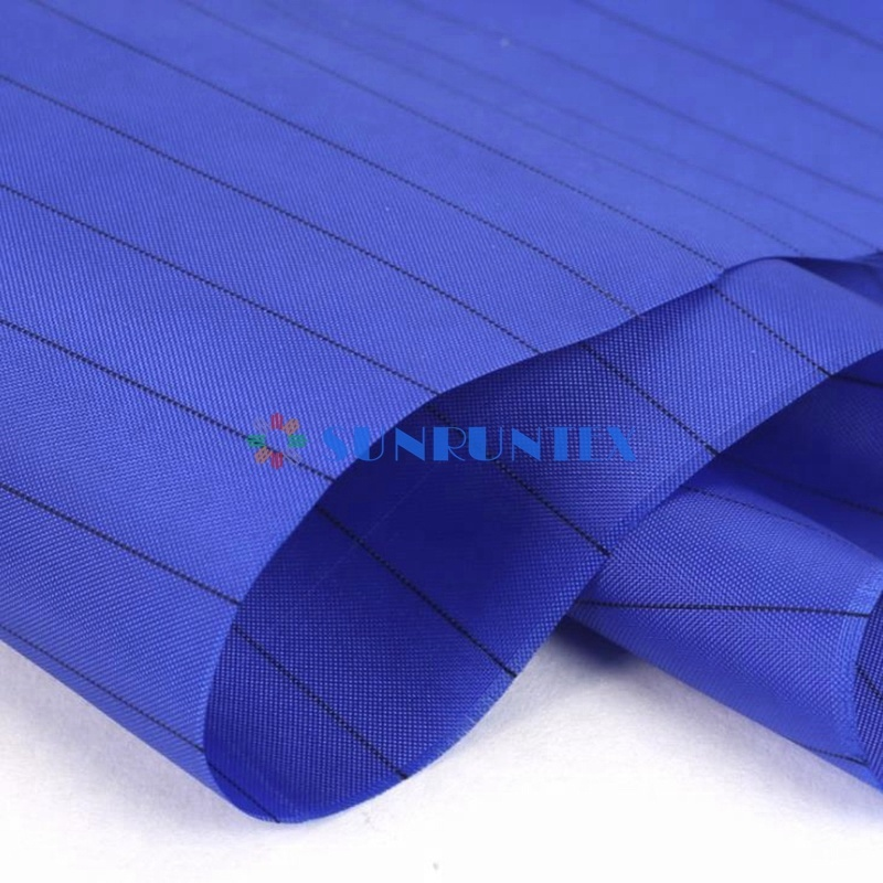 high quality polyester carbon anti static ESD fabric clothing fabric