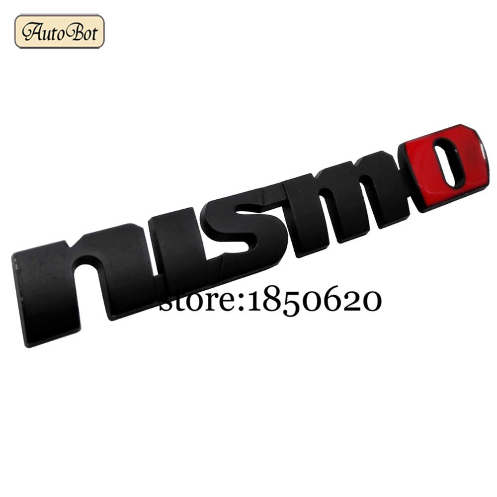 Auto Aluminium Metal Nismo Logo Emblem Decal Badge Car