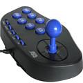 2016 חם חדש באיכות גבוהה מראת אקריליק PC USB ' ויסטיק ארקייד gamepad בקר משחק joypad, plug and play משלוח חינם