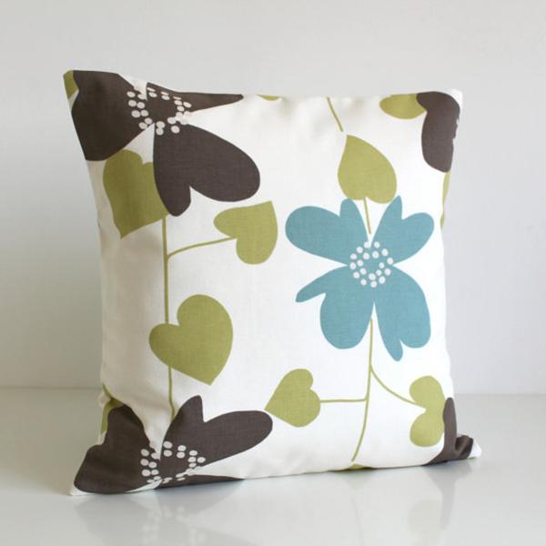 Wholesale fiber printed decor home pillow