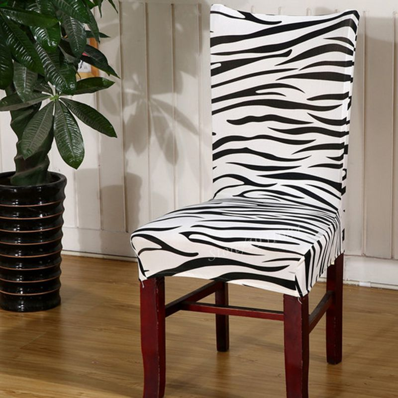 Zebra Print Chair Covers Promotion Shop For Promotional