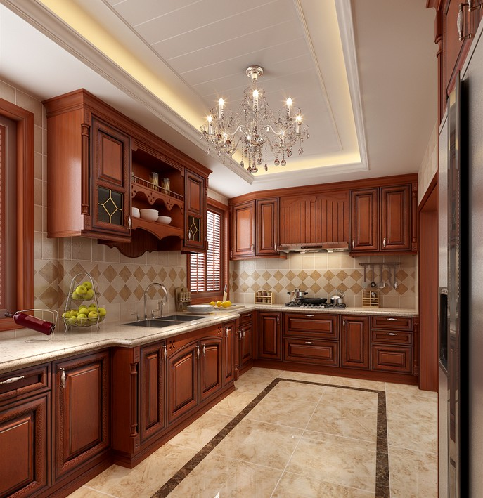 Contemporary Mahogany Wood Kitchen Cabinets Design Buy Solid Product On Alibaba Com