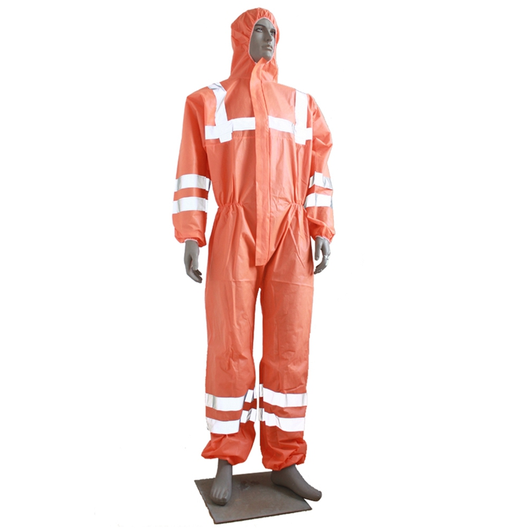 Factory disposable pp+pe coverall with hood anti-dust work coverall for clean room - KingCare | KingCare.net