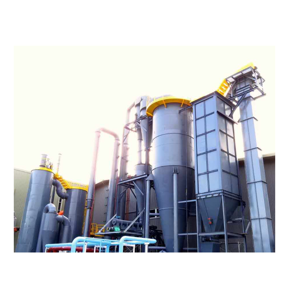 Biomass gasification power plant equipment