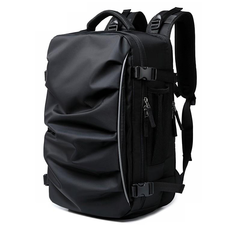 35L निविड़ अंधकार बैग पर ले जाने के लिए उड़ान को मंजूरी दी संपीड़न यात्रा पैक केबिन बैग Duffel लंबी पैदल यात्रा बैग