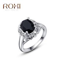 Dámsky prsteň s rôznymi farbami kamienkov z Aliexpress