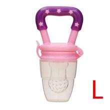 Детские игрушки для прорезывания зубов, Силиконовая пустышка для кормления, для детей ясельного возраста, свежая пища, фруктовый суп, корму...(Китай)