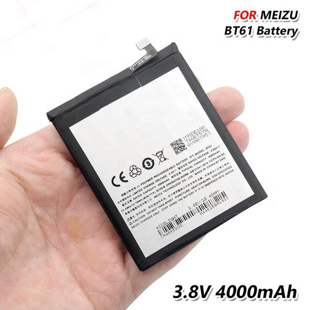 100% Оригинальный BT61 аккумулятор телефона BT 61 BT-61 для Meizu M3 Примечание L681C L681H L681Q M3 Note Dual SIM большой емкости