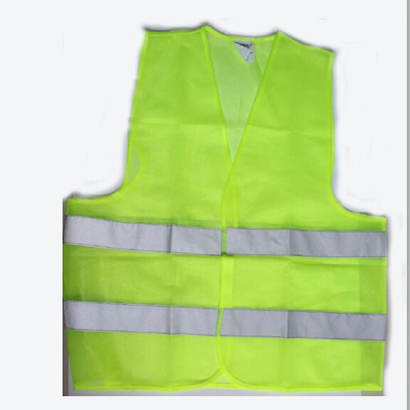 ( 20 шт./лот ) оптовая продажа высокие видимость куртки 60 см санитарии безопасность дорожного движения одежда
