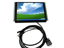 10.4 inch usb LCD open frame touch monitor with VGA/ TV optional