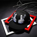 Fashion Solid Finger Snapback Hat Hip Hop Hat Snapback Cap For Men Women Baseball Cap Bone