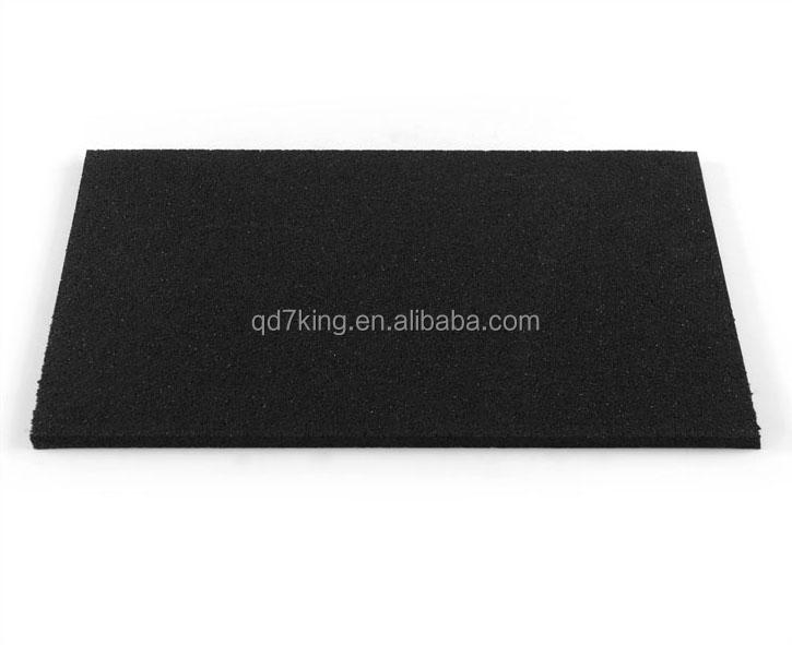 Flooring rubber underlay