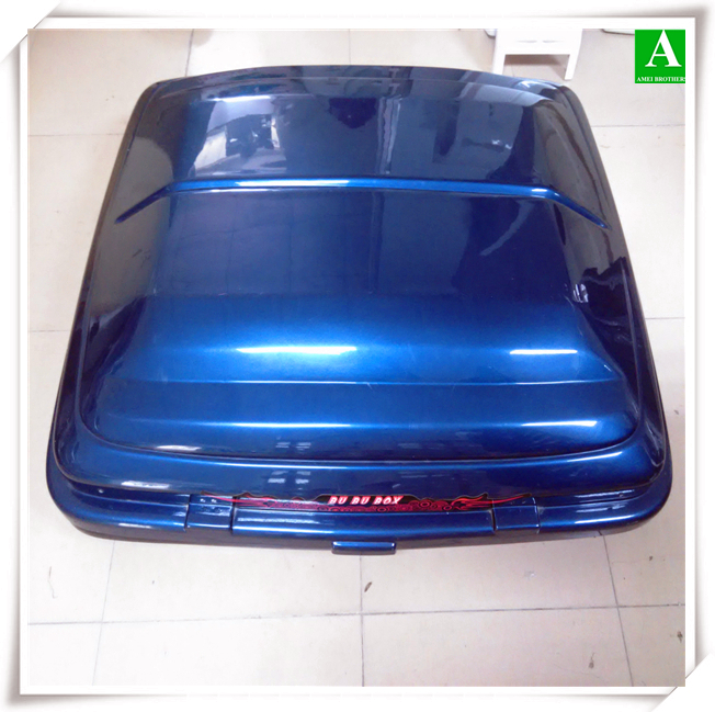 Vacuum forming ABS+ASA material plastic car roof travel box