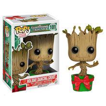 FUNKO POP Marvel Guardians of the Galaxy grooted Мстители, эндшпиль, фигурки, Коллекционная модель, игрушки для детей, подарок(Китай)