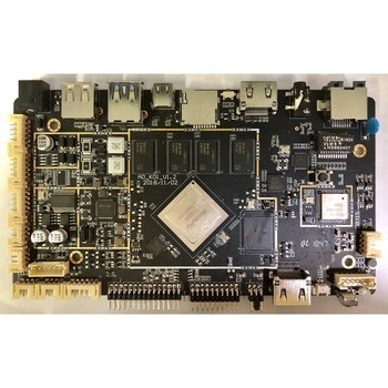 Stock rockchip rk 3399 development board with LVDS EDP Display factory computer pc motherboard mainboard open root authority
