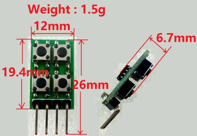 Duty Cycle Frequency Adjustable Pwm Square Wave Pulse