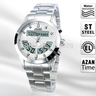 Amazing Muslim gifts alharameen Qibla Azan Watch with Prayer Compass